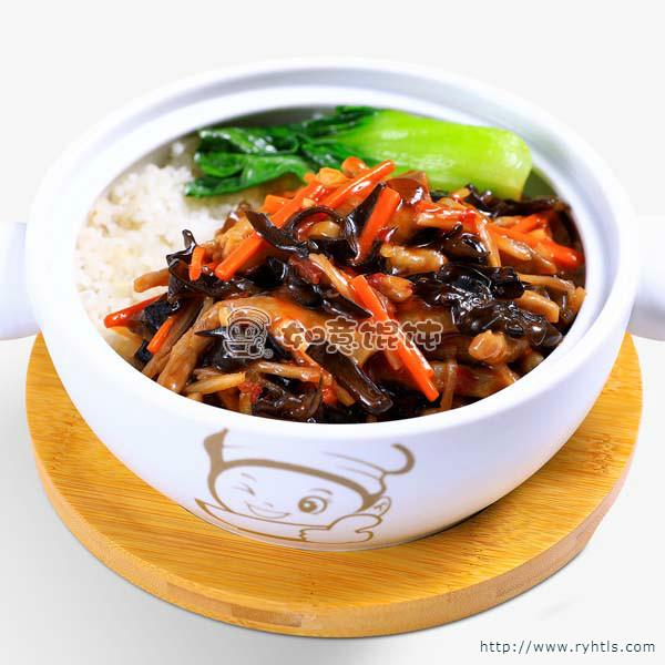 鱼香肉丝饭