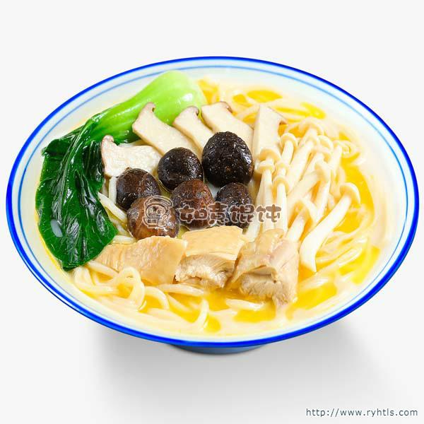 菌王鸡汤面