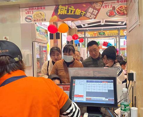 热烈祝贺湖北仙桃如意馄饨加盟店盛大开业,预祝老板生意兴隆!