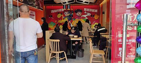 热烈祝贺江苏苏州如意馄饨吴江八都店盛大开业!
