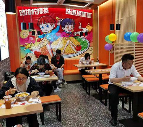 热烈祝贺江苏常熟如意馄饨闽江东路店盛大开业!