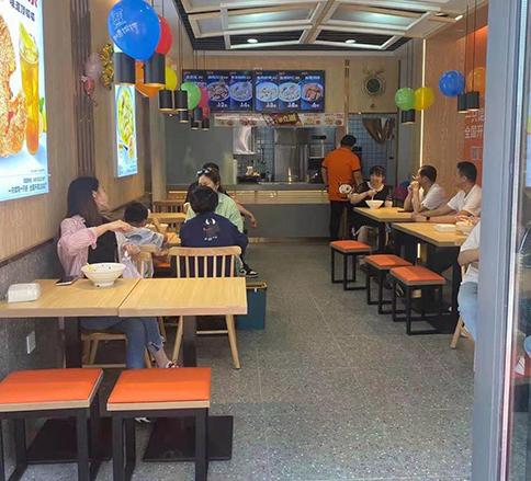 热烈祝贺湖北武汉如意馄饨金地凤凰街店盛大开业
