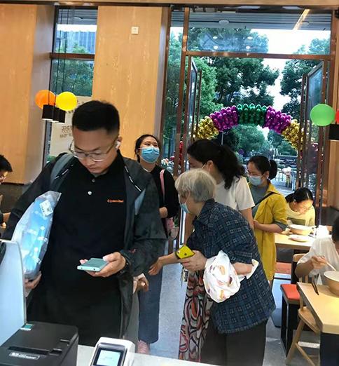 热烈祝贺湖北武汉如意馄饨光谷金融港店盛大开业