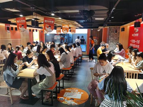 热烈祝贺浙江杭州如意馄饨金沙印象城店盛大开业!